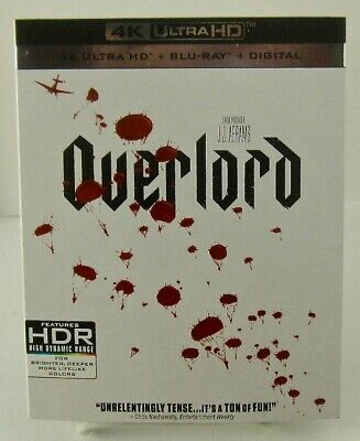 Overlord (2018) 4k Ultra HD/Blu-ray/Digital Paramount Pictures