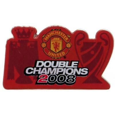 Manchester United F.C. Double Champions Badge