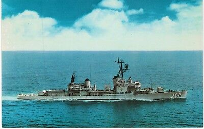 US Navy Furse Flagship Commander Destroyer Division 22 Norfolk VA 1970s