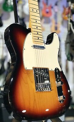 New Fender Player Series Telecaster Pau Ferro Neck  3-Color Sunburst, FREE Ship