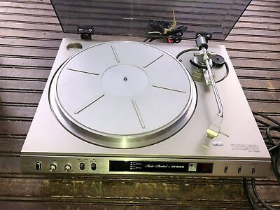 Vintage Fisher Direct Drive Turntable Record Player MT-6360
