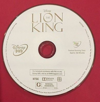 Lion King, The (1994) [Disney DVD] BUY 3 GET 1 FREE