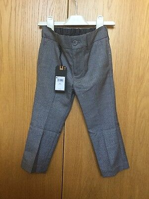 Brand New With Tags Boys Smart Trousers Age 3 Years Next Rrp £19