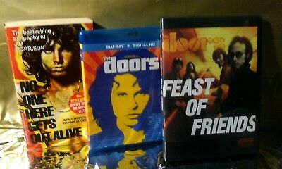 Doors collection Lot. Upgrade! amazing special features 1 DVD 1 Blu Ray 1 Book.