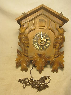 parts / repair vintage German cuckoo clock Regula West Germany coo coo G.M.