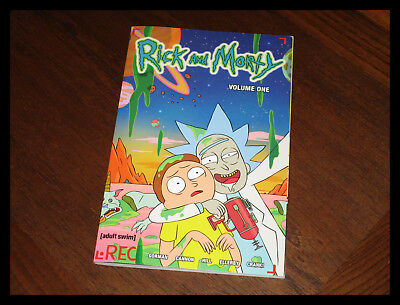 TOP Rick and Morty Comic Volume 1 / Band 1 englisch Goreman Buch