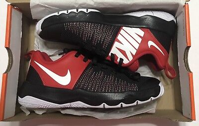 watch 71fb7 3ef58 NIKE Team Hustle Quick (gs) 922680-002 Black white-university Red