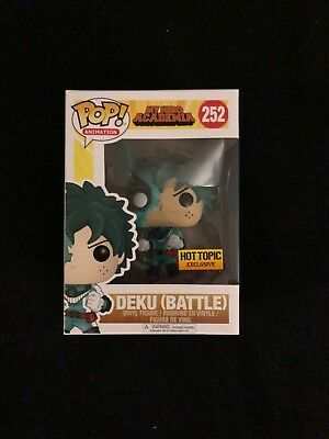 Deku Battle My Hero Academia #252 Funko POP!  Hot Topic Exclusive Classic rare!