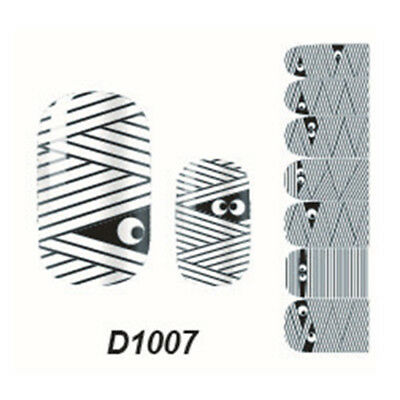 Nail Wrap Sticker Decoration Self Type Adhesive Polish Foil Art Decal Lovely BCL