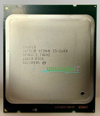 INTEL CPU PROCESSOR SR0KH E5-2680 2.7GHz 8 CORE R720 IBM M5 DL380P GEN8