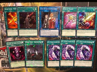 Isolde, Two Tales Of The Noble Knights SOFU-ENSE1 + Equip Spells, Rhongo Yugioh
