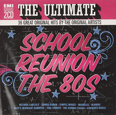 Various Artists-Ultimate School Reunion The 80S (UK IMPORT) CD NEW