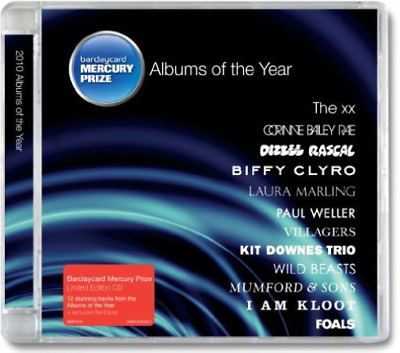 BARCLAYCARD MERCURY PRIZE-2010 Albums Of The Year (UK IMPORT) CD NEW