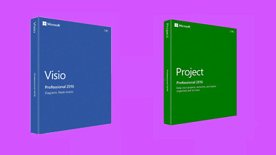 Microsoft Visio & Project 2016 Professional - Bundle - 1 PC