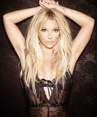 Britney Spears Posing With Arms On Head 8x10 Picture Celebrity Print