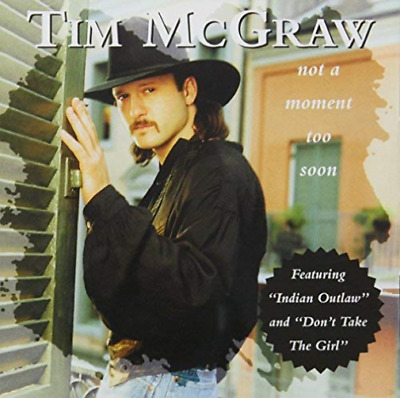 Tim Mcgraw-Not A Moment Too Soon (UK IMPORT) CD NEW