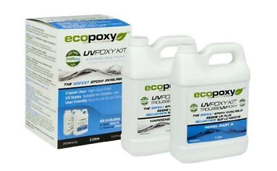 ECOPOXY UVPOXY 2 L KIT (Approximate US 1/2 gallon)