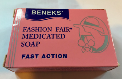 3 x FASHION FAIR SOAP 80G ( 3 PACKS)