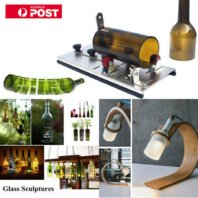 Glass Bottle Cutter Cutting Machine Tool Set Jar Wine Beer Recycle DIY Craft AU