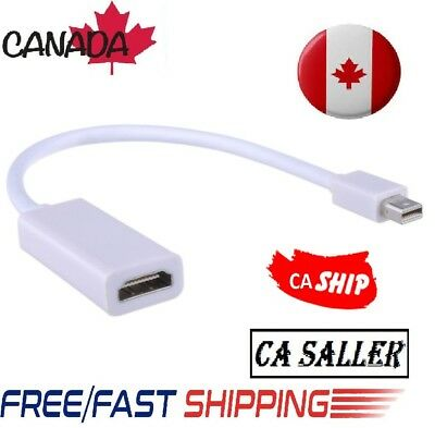 Mini Display Port to HDMI Adapter Thunderbolt DP Cable For MacBook Pro Air Mac
