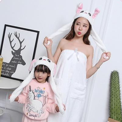 Cute Hat Rabbit Bunny Ears Will Move The Rabbit Hat Girls-Gift As seen Fashion