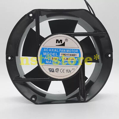 Suitable for 380V 0.26A 17251 YM317ANB1 17CM cabinet axial cooling fan