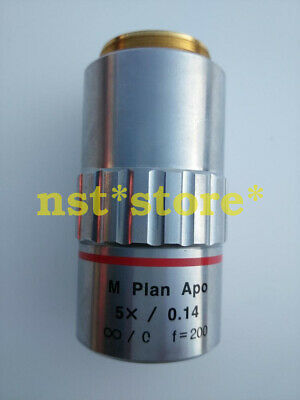 ONE for Mitutoyo M Plan Apo 5x 0.14 Microscope Objective Lens f=200