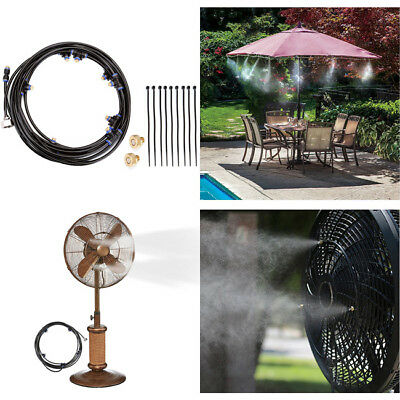 5/8 M OUTDOOR Misting System Fan Cooler Water Cooling Patio