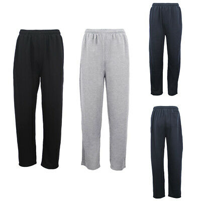 Mens Regular Fit Drawstring Sweat Pants Track Suit Sports Casual Trousers Jogger