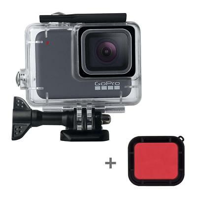 For GoPro HERO 7 Transparent Protective Cover Case Shell Mount Screen Film Glass