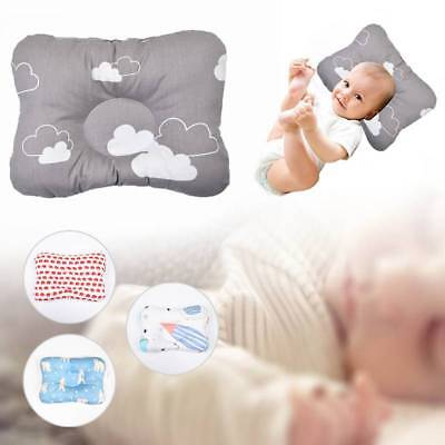 Newborn Baby Pillow Memory Foam Positioner Prevent Flat Head Anti Roll Pillows