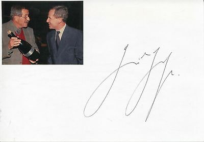 Günter Grass autograph author Nobel Prize LIT 1999, signed card