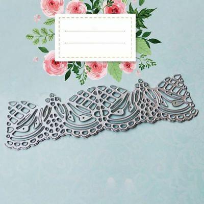 Envelope Lace Edge Metal Cutting Dies Stencil for DIY Scrap booking Album Crafts