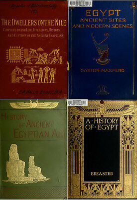 230 Old Books On Ancient Egypt & Egyptian Archeology History Pyramid Giza On Dvd