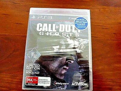 Call Of Duty Ghosts Game PS3 Game Limited Edition NEW SEALED