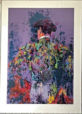 Serigraph, Neiman LeRoy (American 1921-2012) Toreador on Paper framed By KULICKE