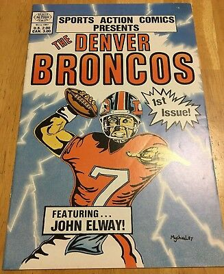 Sports Action Comics Presents: The Denver Broncos featuring John Elway (1987) #1
