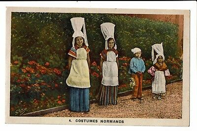 CPA-Carte postale-FRANCE- Costumes Normands - S4616