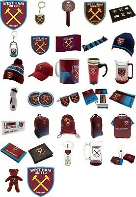 Official WEST HAM UNITED Football Club Merchandise Xmas Birthday Hammers Gift
