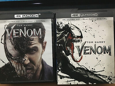 VENOM 4K UHD + Bluray (K)
