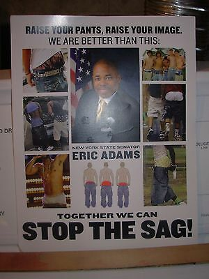 Poster-Raise Your Pants, Raise Your Image-Together We can Stop the Sag