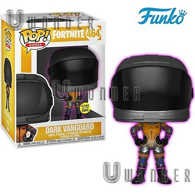 DARK VANGUARD # 464 Funko POP ! Games - FORTNITE - Glow In The Dark FIRST LIGHT