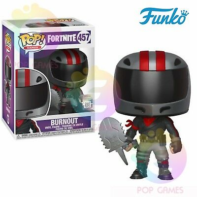 BURNOUT # 457 Funko POP ! Games - FORTNITE FIRST LIGHT S2