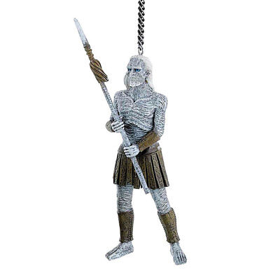 Kurt Adler Game of Thrones White Walker Christmas Tree Ornament 4.25-Inch