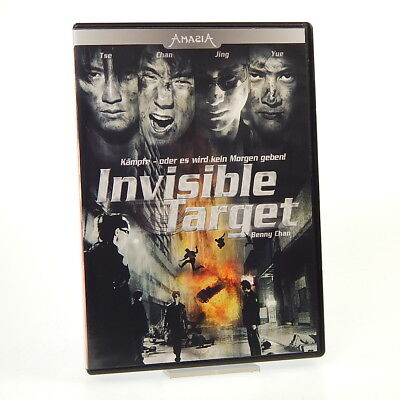 Invisible Target | DVD | Sehr gut | FSK 18