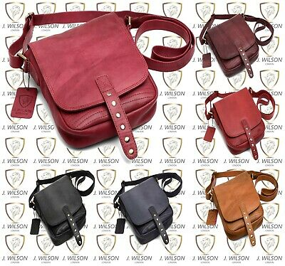 Ladies Leather Satchel Designer Mens Shoulder Cross body bag Messenger Travel