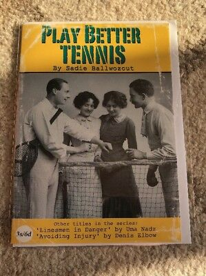 New In Plastic PLAY BETTER TENNIS - HAPPY BIRTHDAY CARD - HUMEROUS!