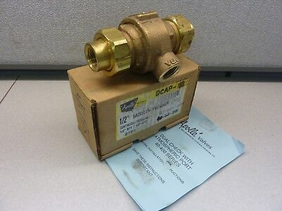"Apollo Model DCAP Size 1/2"" 40-4A3-3AM Dual Check Valve Atmospheric Vent (20924)"