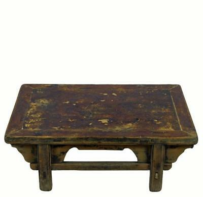 Reclaimed Wood Shandong Accent Table or Coffee Table 4