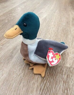 faf9a26566d TY Beanie Baby - JAKE the Duck - Rare - Original